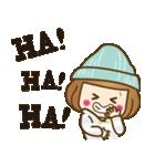 ニット帽のかわいいベニちゃん3(個別スタンプ:8)