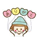 ニット帽のかわいいベニちゃん3(個別スタンプ:9)