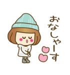 ニット帽のかわいいベニちゃん3(個別スタンプ:13)