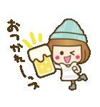 ニット帽のかわいいベニちゃん3(個別スタンプ:16)