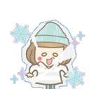 ニット帽のかわいいベニちゃん3(個別スタンプ:18)