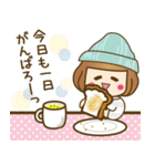 ニット帽のかわいいベニちゃん3(個別スタンプ:22)