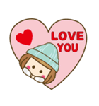 ニット帽のかわいいベニちゃん3(個別スタンプ:26)