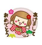 ニット帽のかわいいベニちゃん3(個別スタンプ:34)