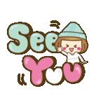 ニット帽のかわいいベニちゃん3(個別スタンプ:40)