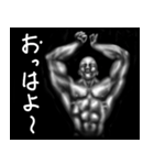 暗闇の筋肉(個別スタンプ:01)