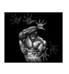 暗闇の筋肉(個別スタンプ:17)