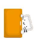 メリクリ、あけおめ 白ねこスタンプ(個別スタンプ:30)