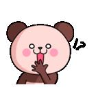 ピンク色したパンダさん(個別スタンプ:10)