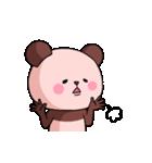 ピンク色したパンダさん(個別スタンプ:16)
