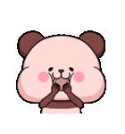 ピンク色したパンダさん(個別スタンプ:37)