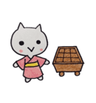 囲碁好きにゃんこの囲碁ライフ(個別スタンプ:36)