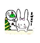 うさぎのみちこ Xmas & New Year(個別スタンプ:05)