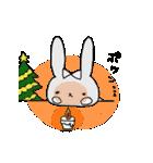 うさぎのみちこ Xmas & New Year(個別スタンプ:06)