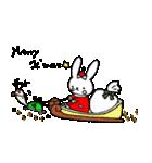 うさぎのみちこ Xmas & New Year(個別スタンプ:08)
