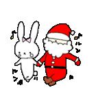 うさぎのみちこ Xmas & New Year(個別スタンプ:11)