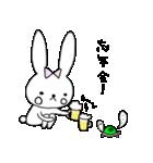 うさぎのみちこ Xmas & New Year(個別スタンプ:12)