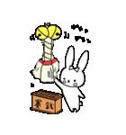 うさぎのみちこ Xmas & New Year(個別スタンプ:36)