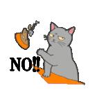 いろいろ毛柄の猫会話(個別スタンプ:05)