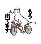 いろいろ毛柄の猫会話(個別スタンプ:09)