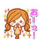 ほのぼのカノジョ 【冬のパステルカラー】(個別スタンプ:23)