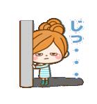 ほのぼのカノジョ 【冬のパステルカラー】(個別スタンプ:24)