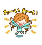 ほのぼのカノジョ 【冬のパステルカラー】(個別スタンプ:30)