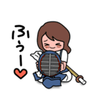 剣道稽古ちゅー3(個別スタンプ:40)
