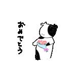 らくがきモーさん3(個別スタンプ:16)
