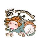 女子力UP!白うさぎさん 冬恋パック(個別スタンプ:10)