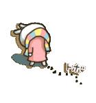女子力UP!白うさぎさん 冬恋パック(個別スタンプ:15)