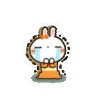女子力UP!白うさぎさん 冬恋パック(個別スタンプ:19)