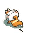 女子力UP!白うさぎさん 冬恋パック(個別スタンプ:20)