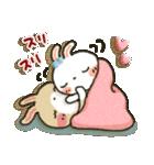 女子力UP!白うさぎさん 冬恋パック(個別スタンプ:35)