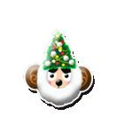 ぷっくりシールの季節の猿(個別スタンプ:06)
