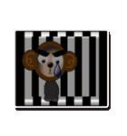ぷっくりシールの季節の猿(個別スタンプ:39)