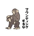 今、サルが熱い(個別スタンプ:9)