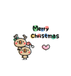ちっちゃいひよこのクリスマス&お正月(個別スタンプ:03)