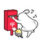 人型動物の年賀状配達とお正月(個別スタンプ:05)