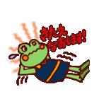 バレーボールなカエルさん(個別スタンプ:18)