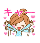 かわいいカノジョ2【基本パック+年賀あり】(個別スタンプ:08)