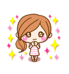 かわいいカノジョ2【基本パック+年賀あり】(個別スタンプ:14)