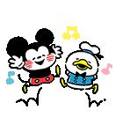 カナヘイ画♪ミッキー&フレンズ(個別スタンプ:01)
