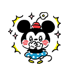 カナヘイ画♪ミッキー&フレンズ(個別スタンプ:11)