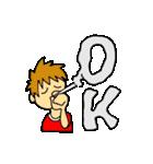 オールOKスタンプ(個別スタンプ:08)