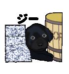 黒ラブの日常(個別スタンプ:14)