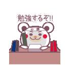 チョコくま合格祈願!受験生応援スタンプ(個別スタンプ:2)