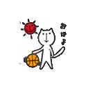 にゃん♡バスケ(個別スタンプ:01)