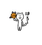 にゃん♡バスケ(個別スタンプ:04)