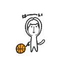 にゃん♡バスケ(個別スタンプ:07)